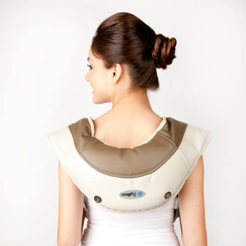 Zyllion ZMA-08 Neck and Shoulder Massager Relax Your Upper Back