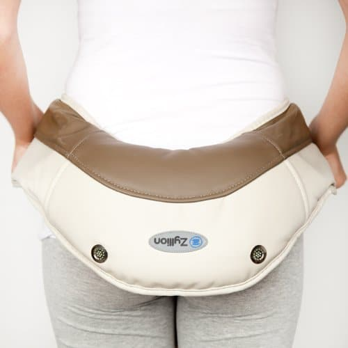 Zyllion ZMA-08 Neck and Shoulder Massager Warm Butt