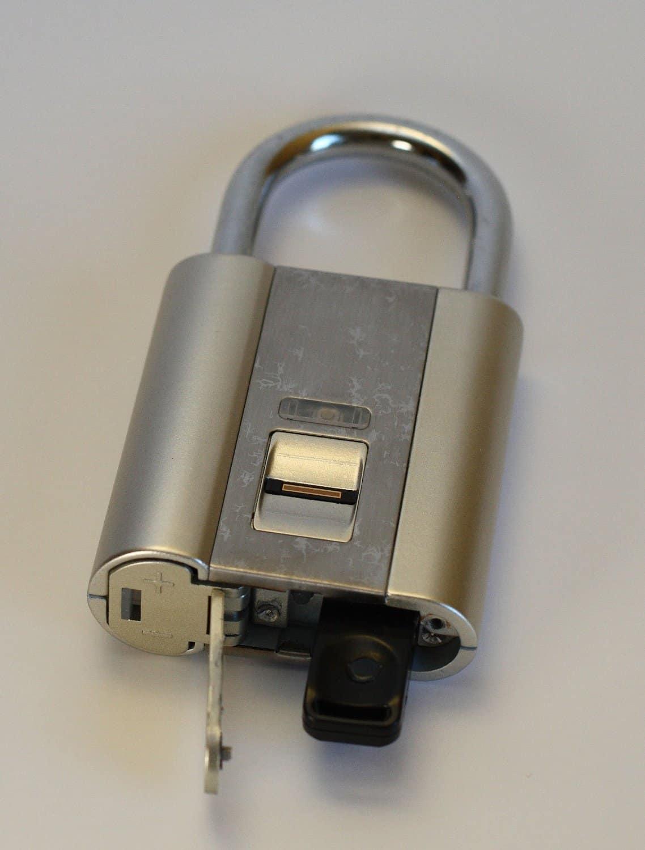 iFingerLock Fingerprint Biometric Padlock Open Without Keys