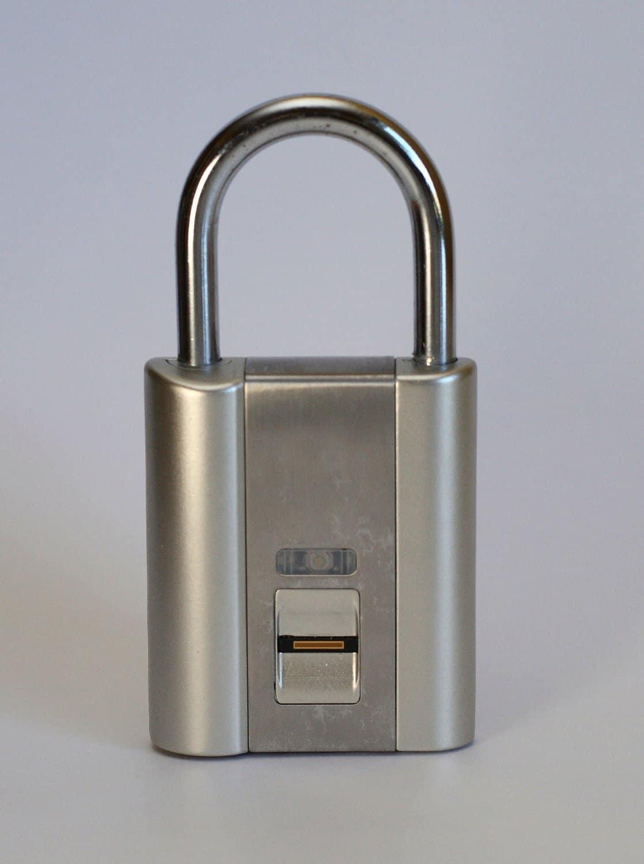 iFingerLock Fingerprint Biometric Padlock for Multiple Users