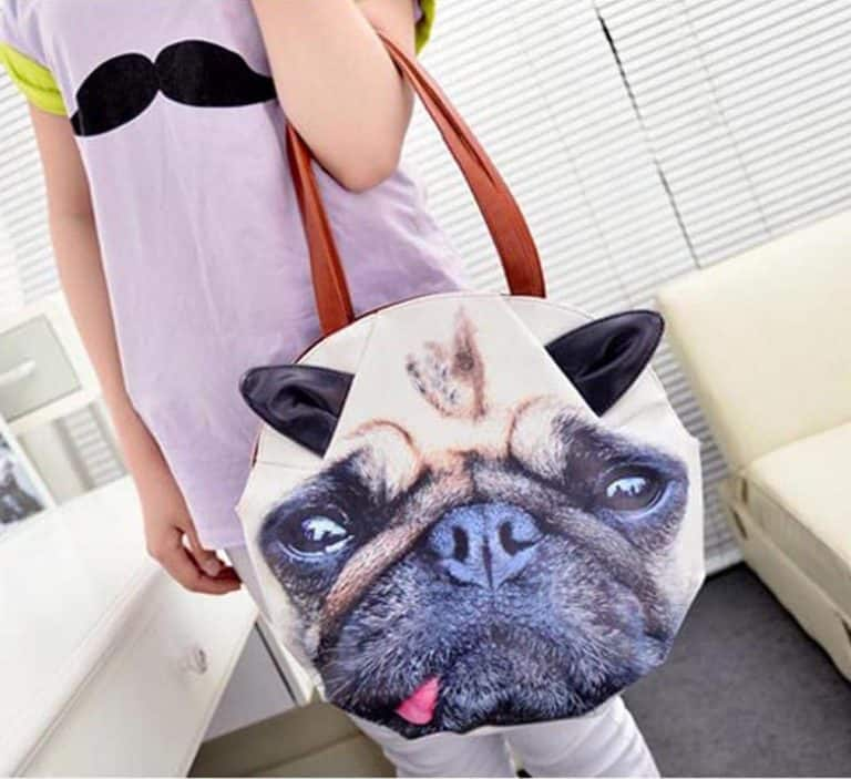 3D Giant Animal Face Tote Bag Buy Cute Gift Idea for Her