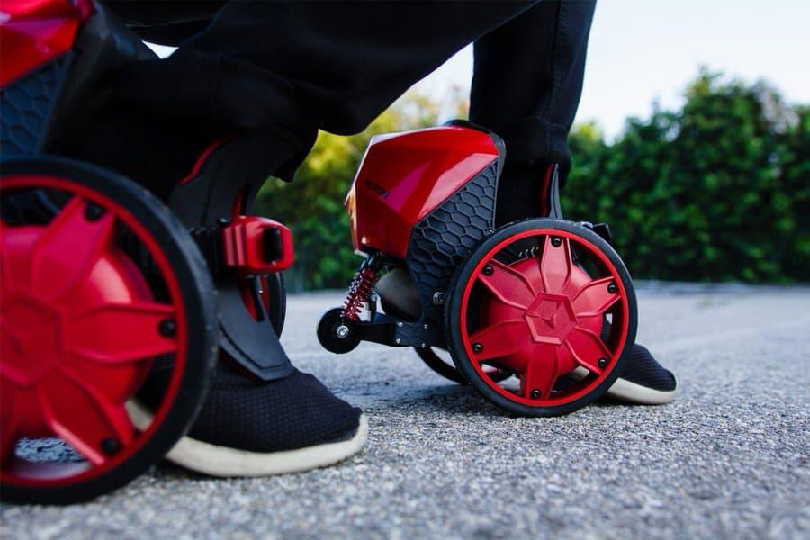 Acton-Rocketskates-Electric-Skates Futuristic Transport
