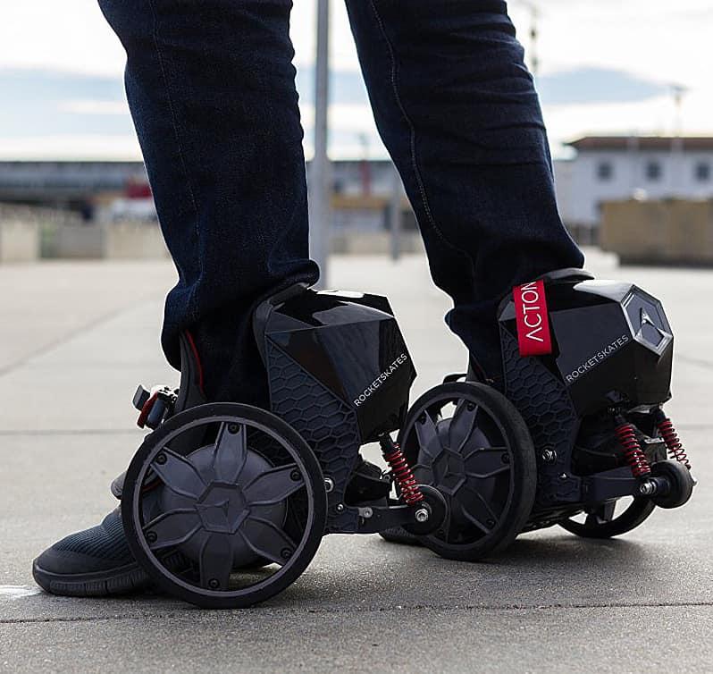 Smart wearable transportation.