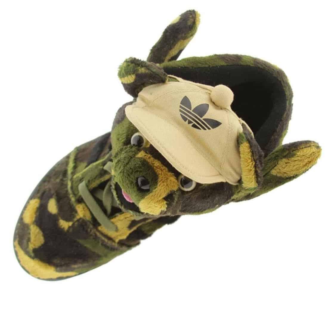 Adidas Jeremy Scott Camo Bear Sneakers Green Buy Cool Shoes