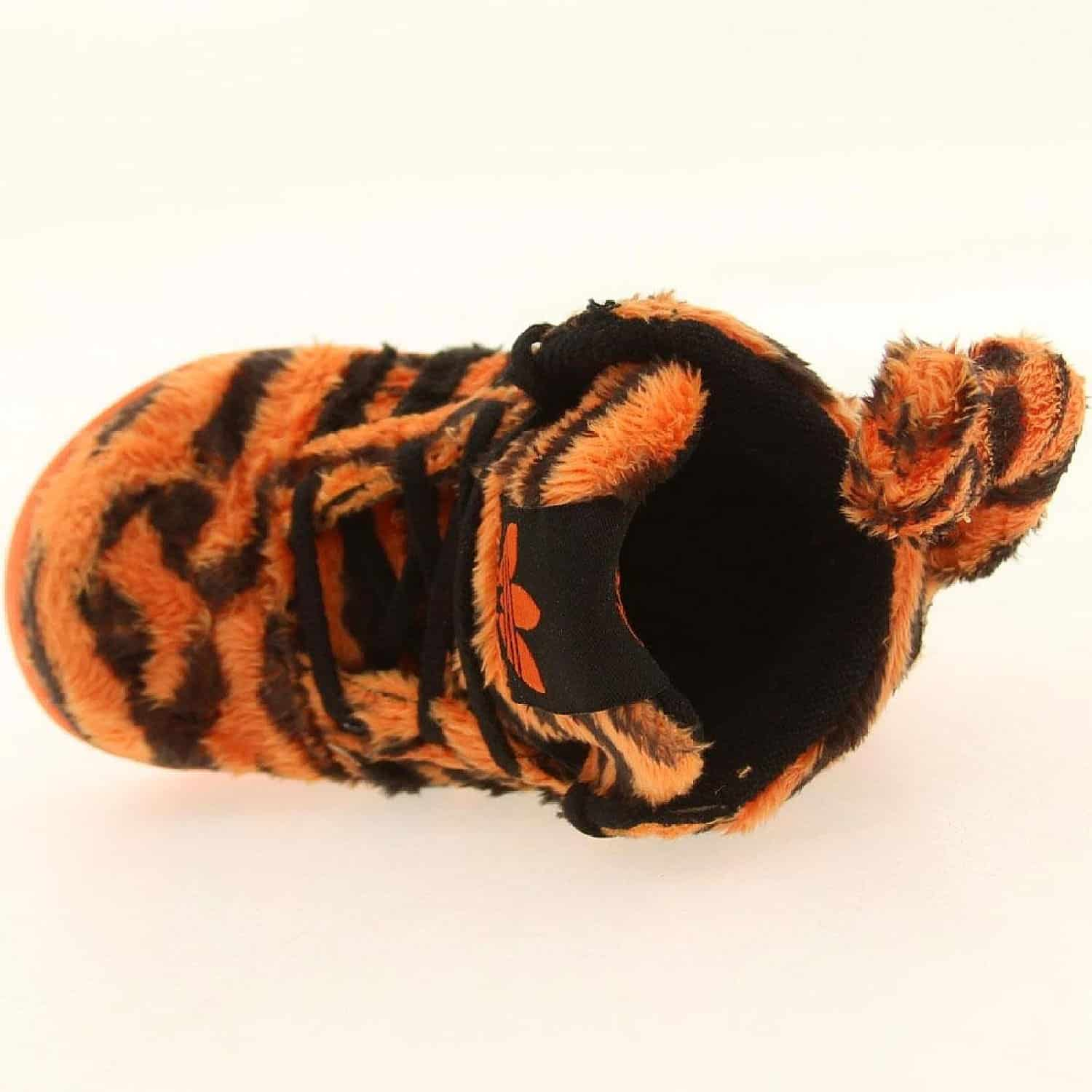 Adidas Jeremy Scott Tiger Furry Toddler Sneakers