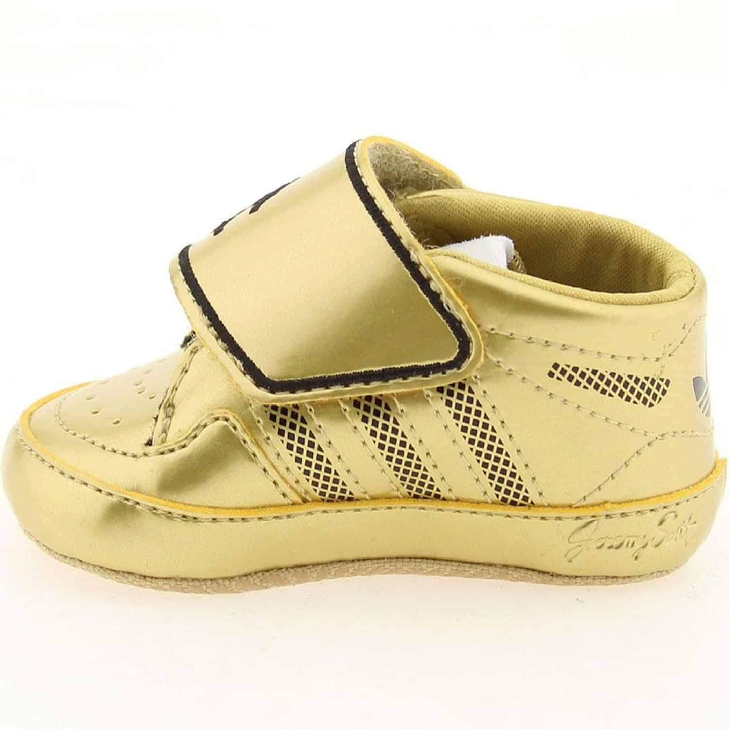 Jeremy Scott Gold Baby Shoes Style Guru Fashion Glitz