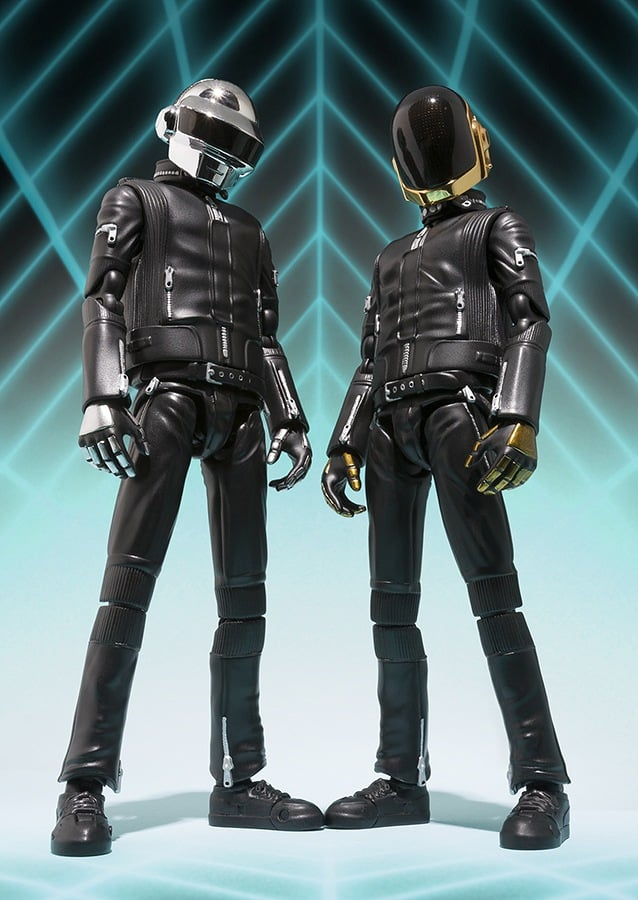 Discover Daft Punk action figures.