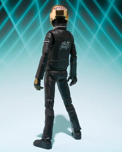 Bandai Tamashii Nations S.H. Figuarts Daft Punk Action Figures Guy-Manuel de Homem-Christo  Gold Helmet