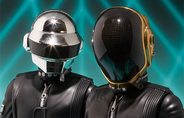 Bandai Tamashii Nations S.H. Figuarts Daft Punk Action Figures Limited Edition Toy