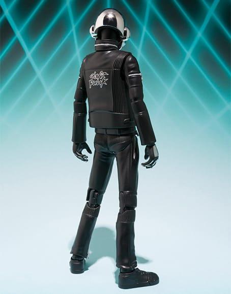 Bandai Tamashii Nations S.H. Figuarts Daft Punk Action Figures Thomas Bangalter Silver Helmet