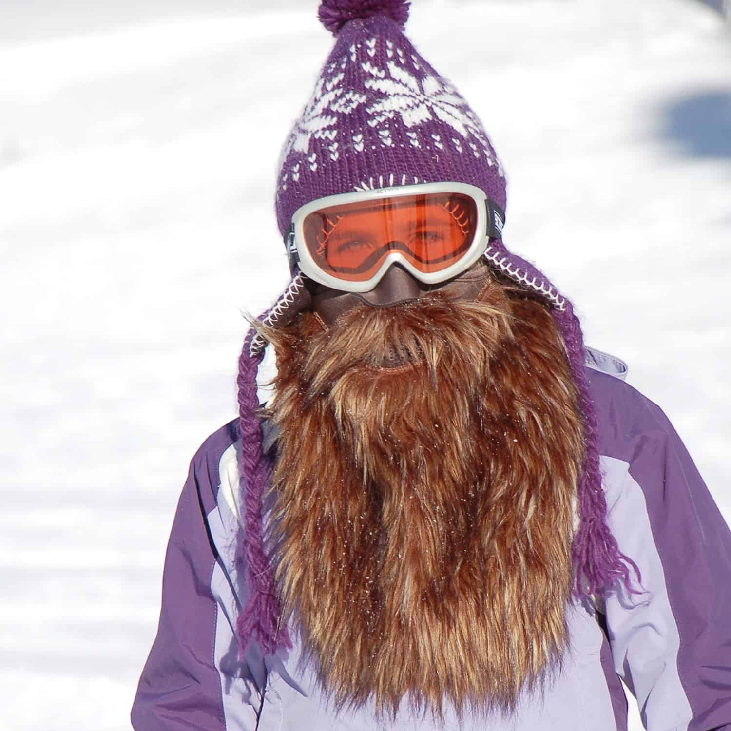 Beardski Bearded Ski Mask Buy Unique Gift Idea for Winter