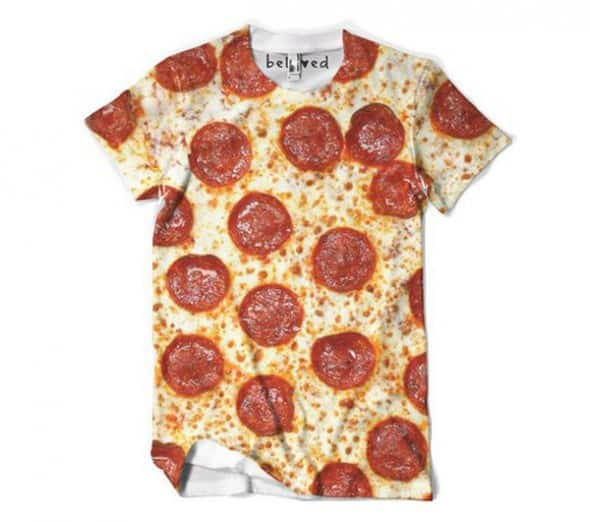 Beloved Shirts Pizza Ms Tee Weird Shirt to Buy
