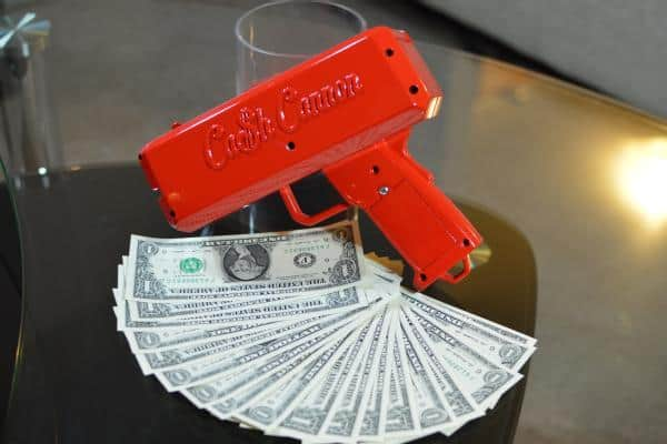 Cash Cannon Party Must Have