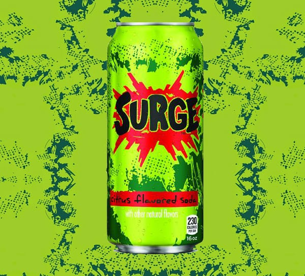 Coca Cola Surge Soda  Cool Gift Idea to Buy