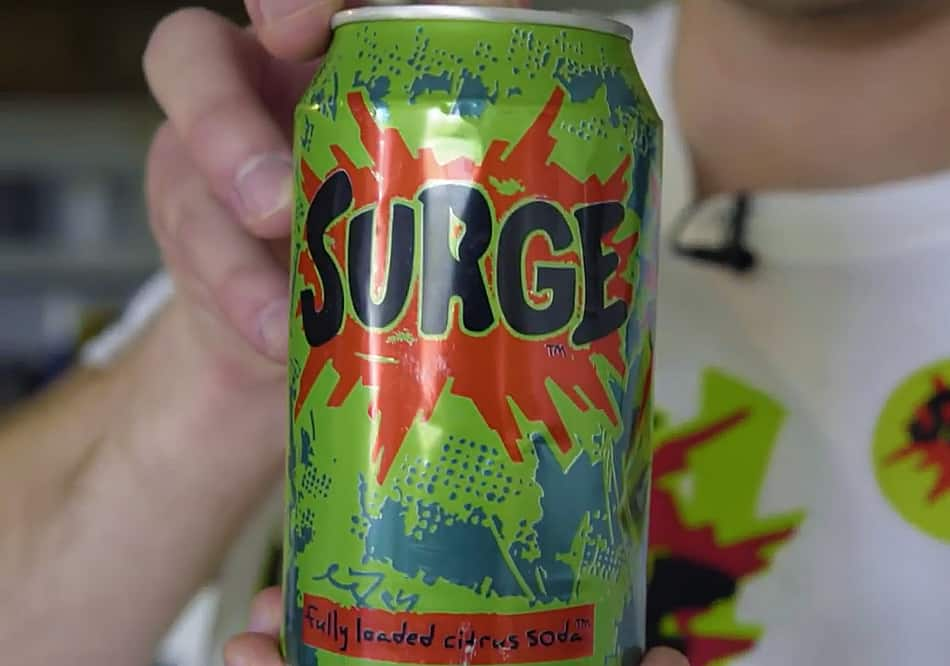 Coca Cola Surge Soda  Nostagic Drink