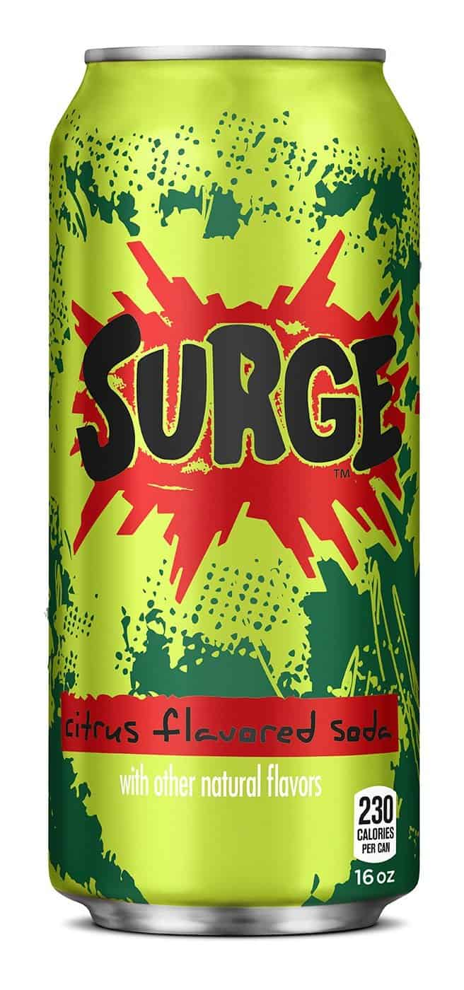 Coca Cola Surge Soda  Old School Drink