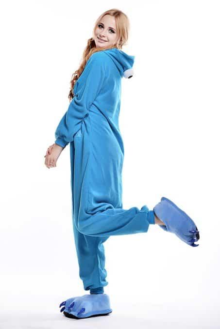 Cookie Monster Unisex Adult Pajama Fun Sleepwear to Buy