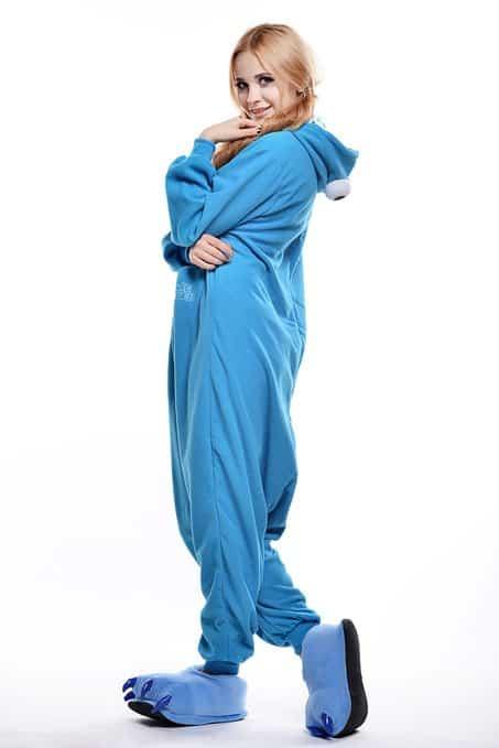 Cookie Monster Unisex Adult Pajama