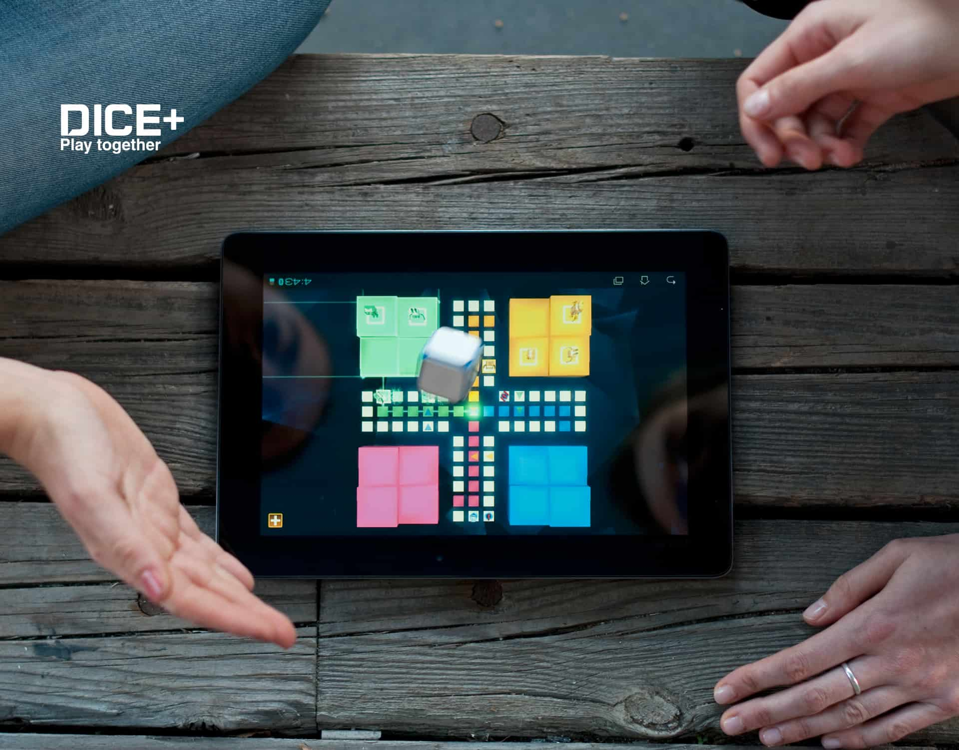 DICE+ Bluetooth Gaming Dice Cool Ipad Game Accessory