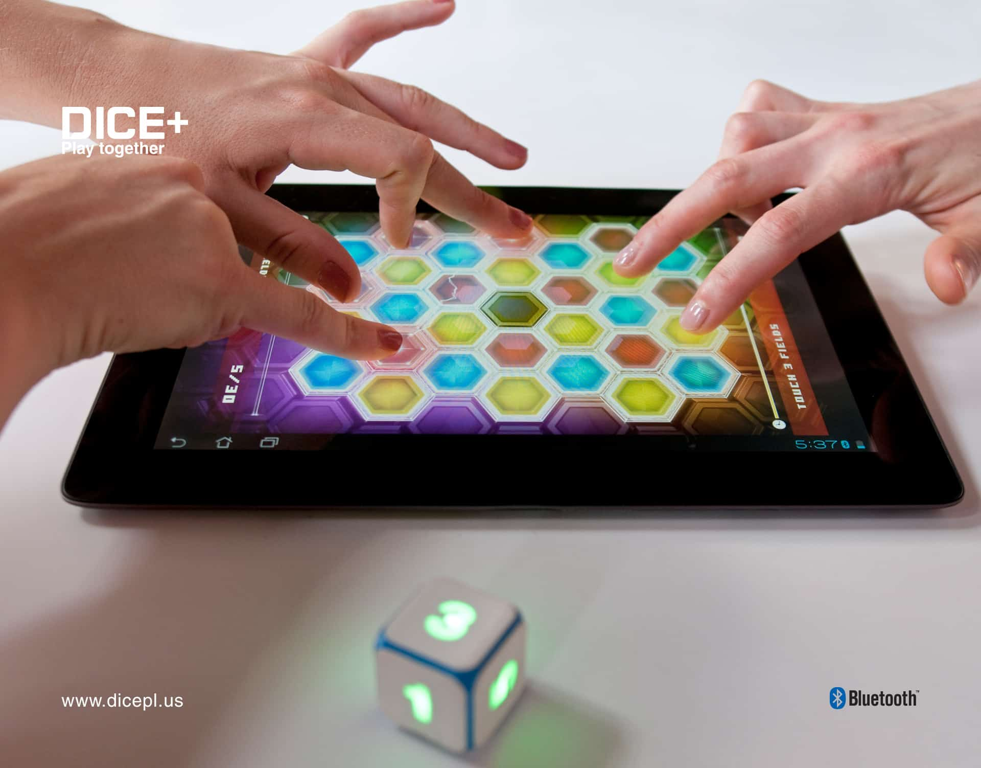 DICE+ Bluetooth Gaming Dice Tablet Game Accessory