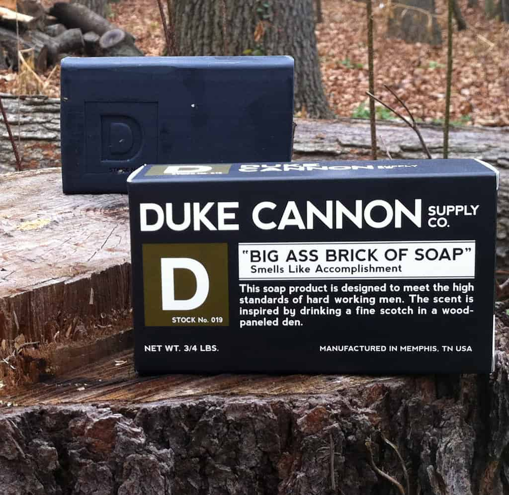 Duke Cannon Big Ass Brick of Soap Cool Manly Gift Idea
