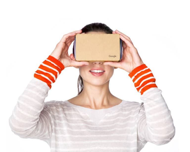 Google Cardboard VR Headset Cheap Virtual Reality Glasses