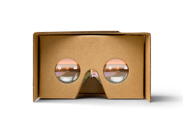 Google Cardboard Virtual Reality Headset 3d Lenses