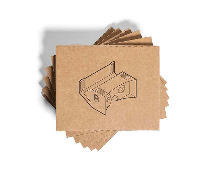 Google Cardboard Virtual Reality Headset Affordable VR Glasses