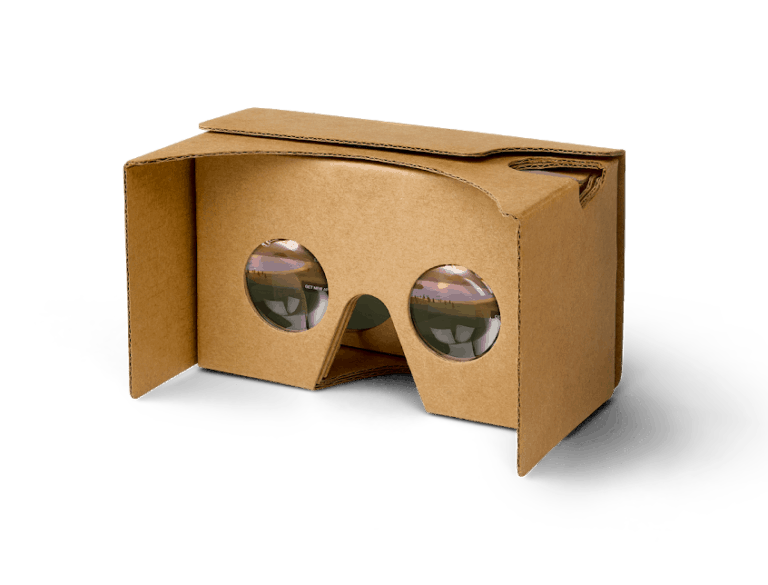 Google Cardboard Virtual Reality Headset Cool Cheap Gadget