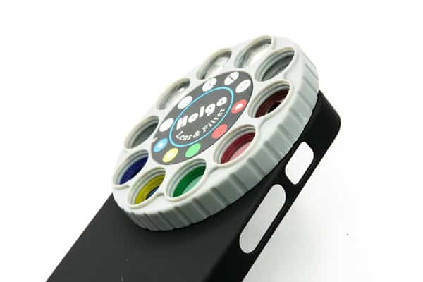 Holga iPhone Filter Lens Case with Retro Dial