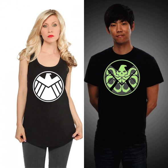 Hydra in the Shadows Glow in the dark Buy Cool Couple Shirt