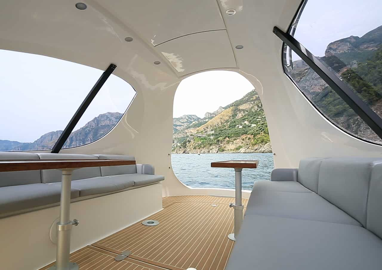 Jet Capsule Interior Sitting Area