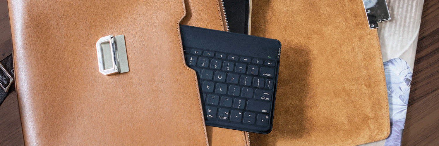 Logitech  Keys-To-Go Keyboard Black and Slim for iPad