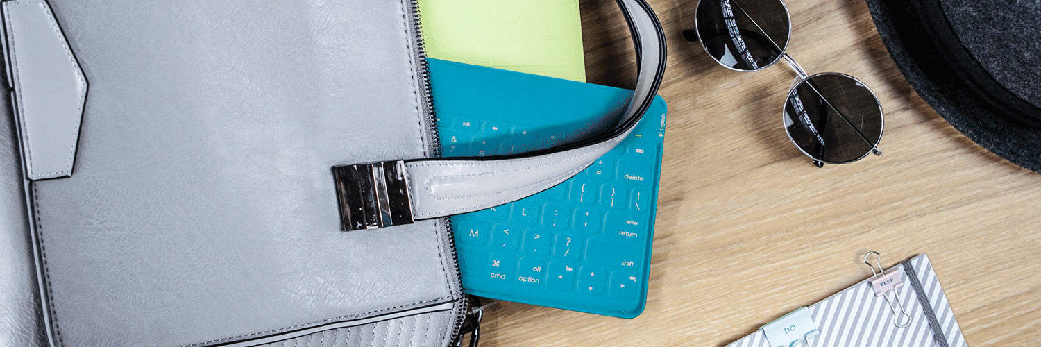 Logitech  Keys-To-Go Keyboard Teal and Chic  for iPad