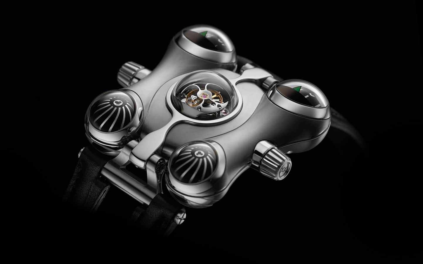MB&F Horological Machine No.6 (HM6) Space Pirate Watch Exotic Design