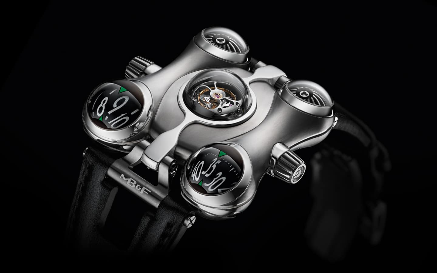 MB&F Horological Machine No.6 (HM6) Space Pirate Watch Exotic Time Piece to Buy