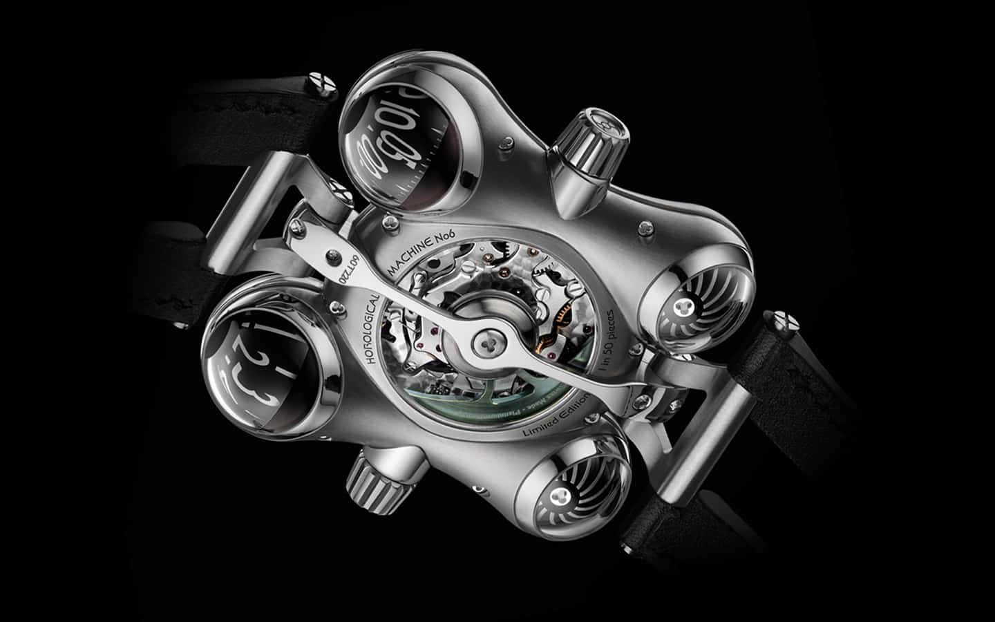 MB&F Horological Machine No.6 (HM6) Space Pirate Watch Mechanism