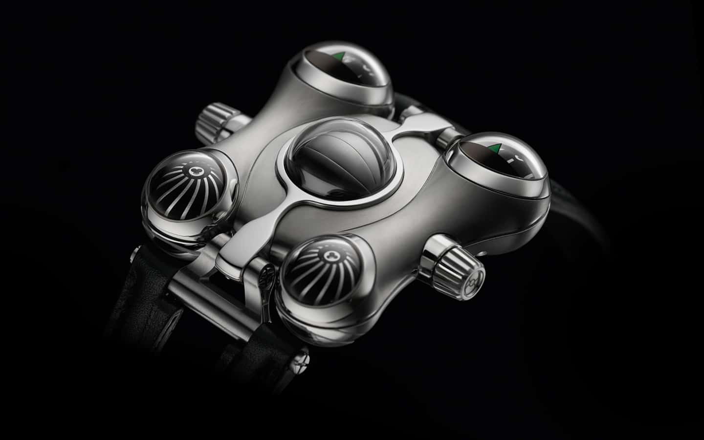 MB&F Horological Machine No.6 (HM6) Space Pirate Watch Retro Futuristic Design