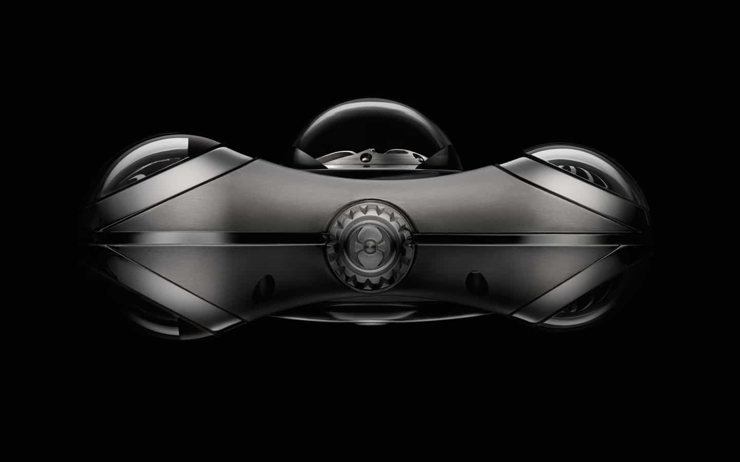 MB&F Horological Machine No.6 (HM6) Space Pirate Watch Side View