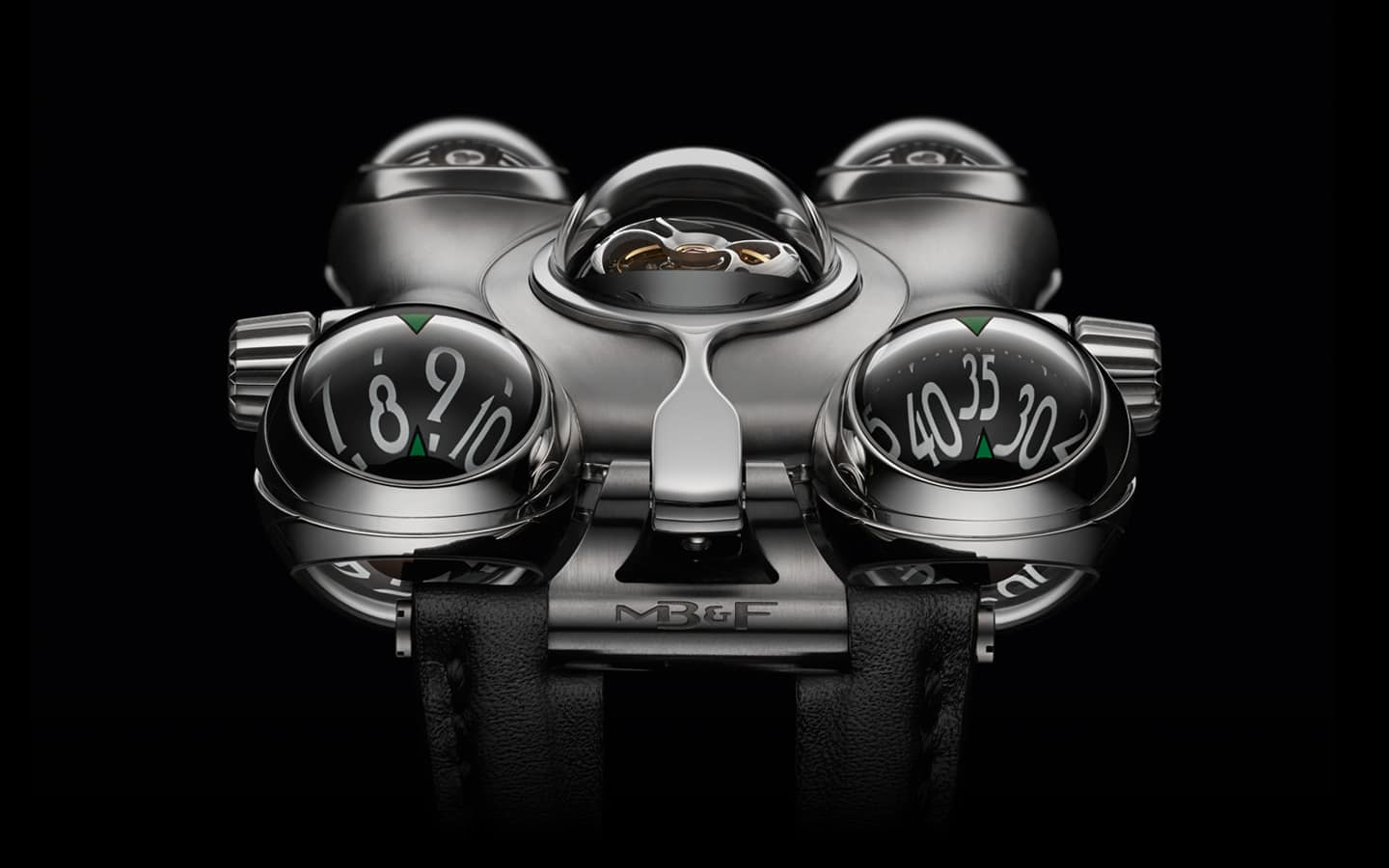 MB&F Horological Machine No.6 (HM6) Space Pirate Watch Unique Stuff to Buy