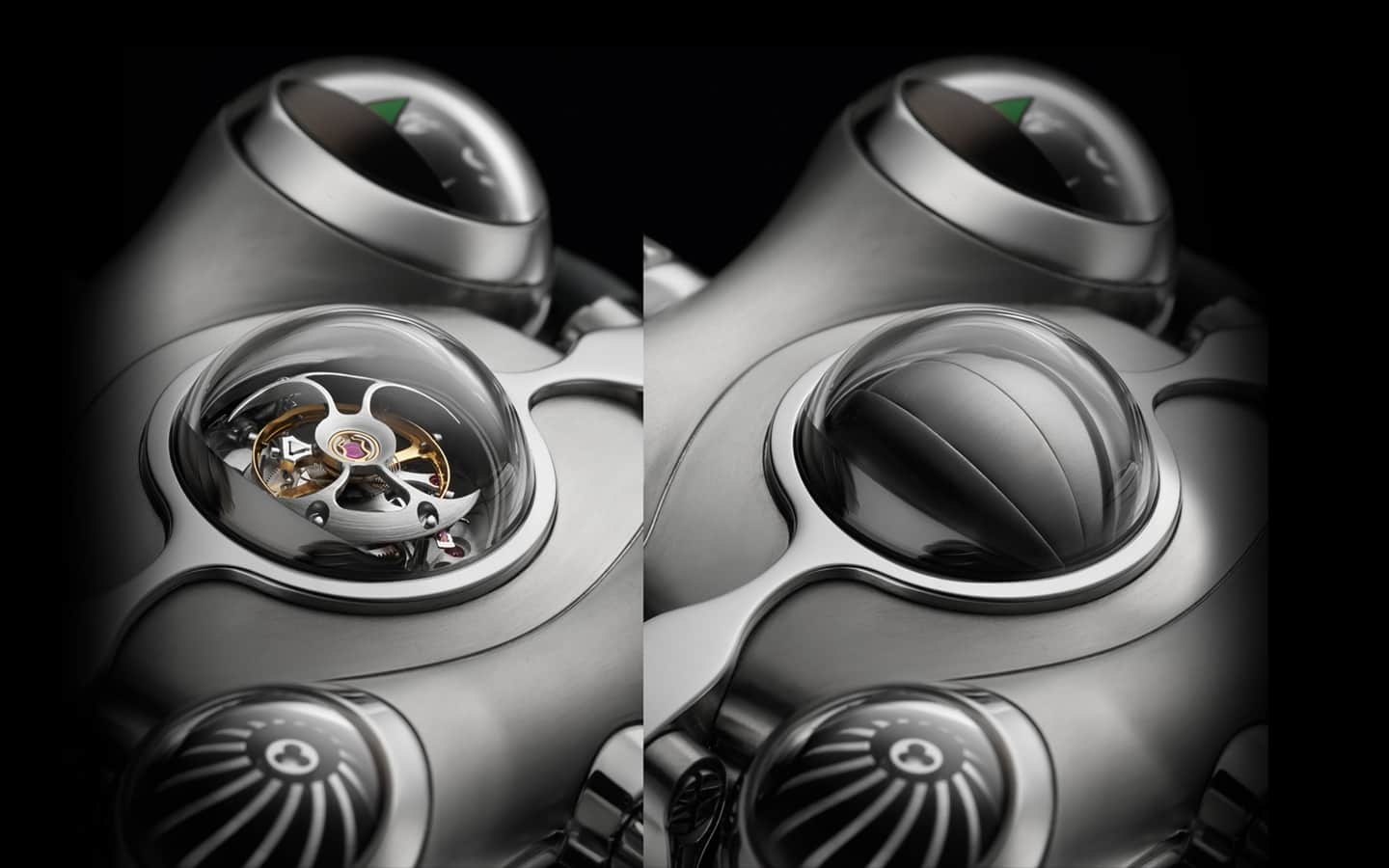 MB&F Horological Machine No.6 (HM6) Space Pirate WatchTourbillon UV Protection