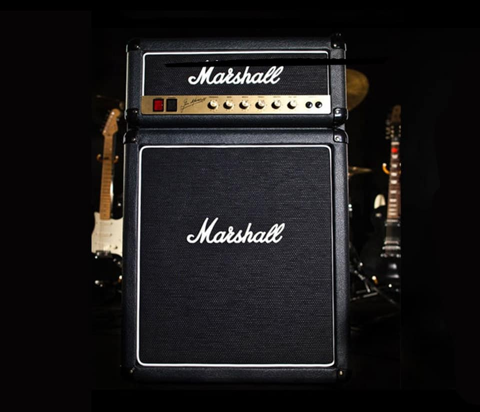 Marshall Fridge by Marshall Amplification Buy Cool Furniture for Apartment Room