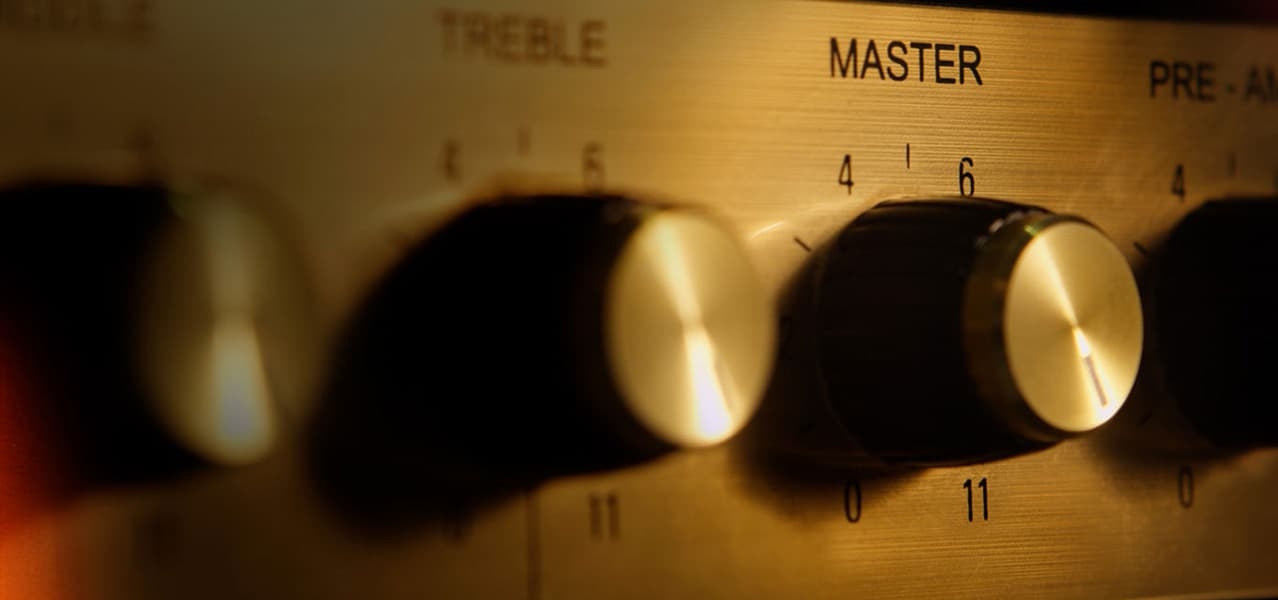 Marshall Fridge by Marshall Amplification Dial Turn Knobs Detail