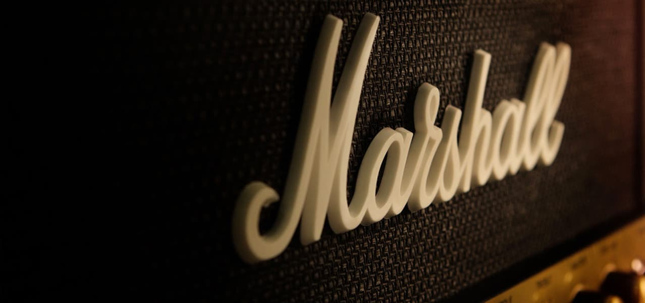 Marshall Fridge by Marshall Amplification Logo Detail