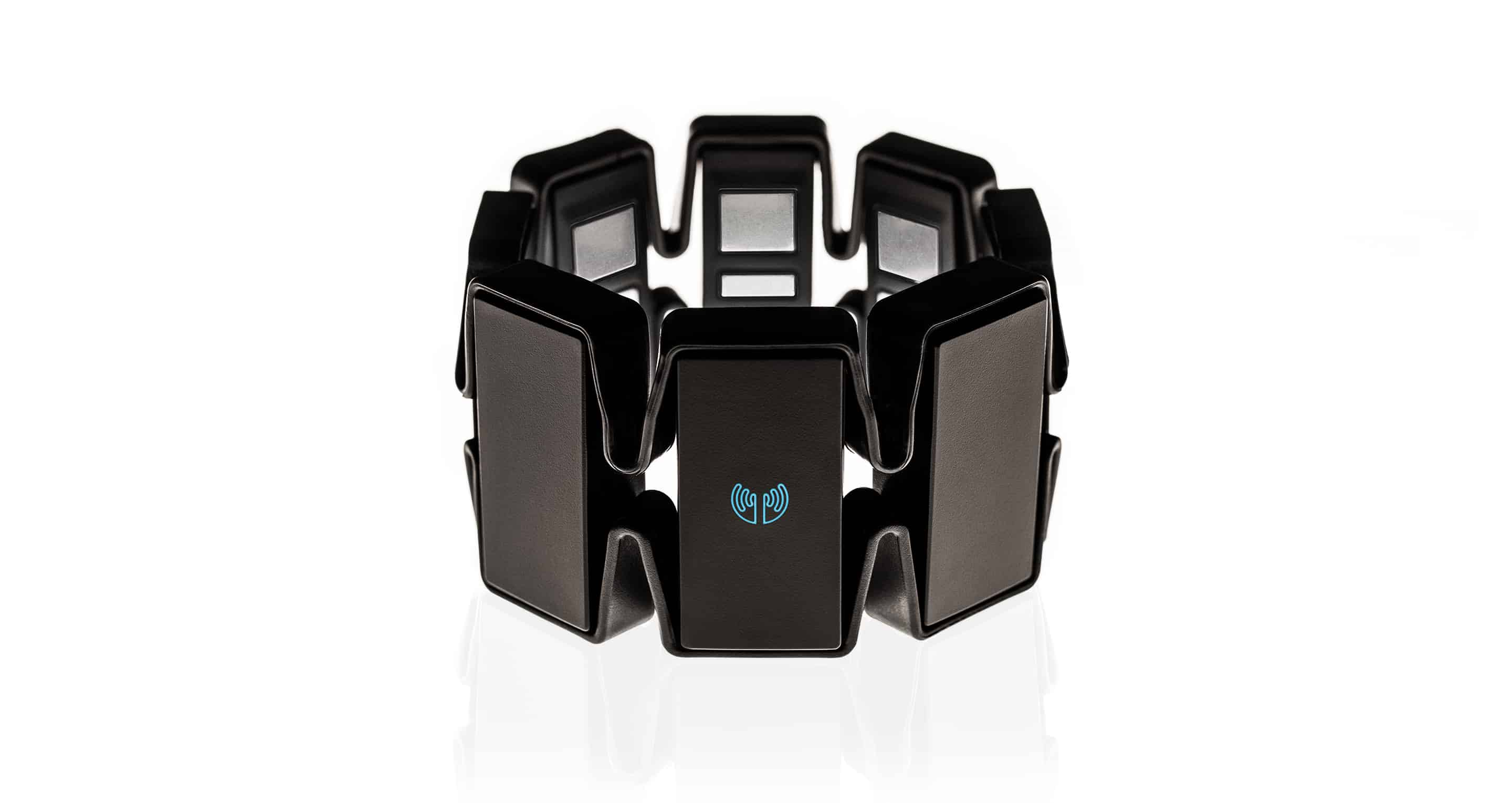 Myo Gesture Control Armband  Black Control With Hand Gestures
