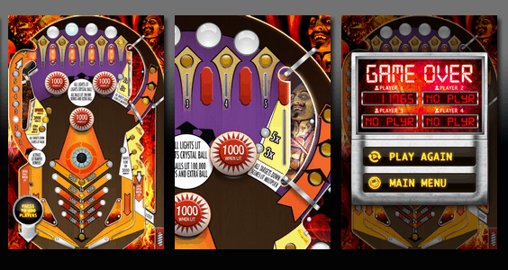 New Potato Technologies Pinball Magic for iPhone App Screenshot