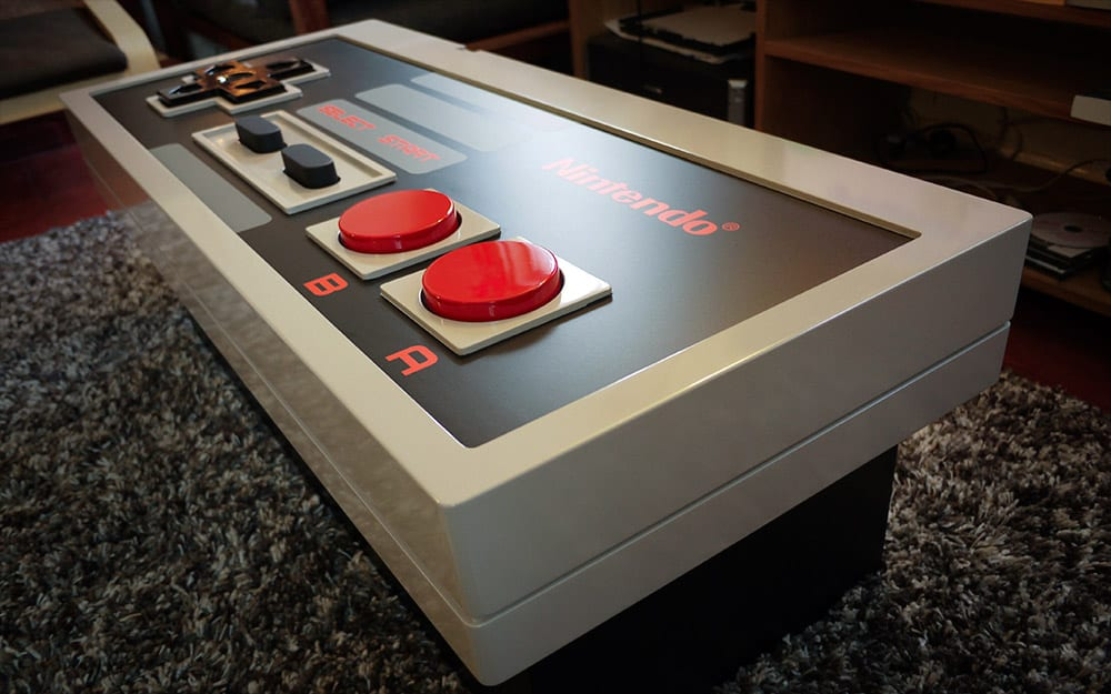 Nintendo Interactive Table Gamer Gift Idea