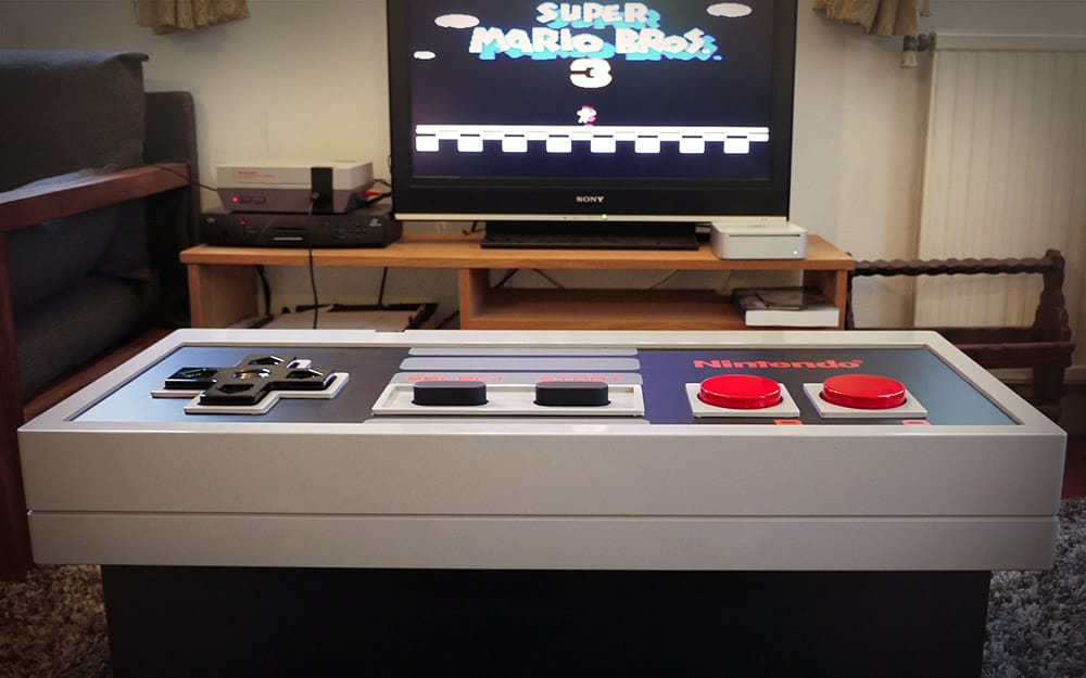 Nintendo Interactive Table Play with a Giant Controller