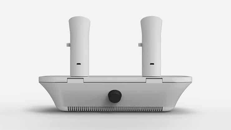 Ophone Scent-based Mobile Messaging Device Rear View
