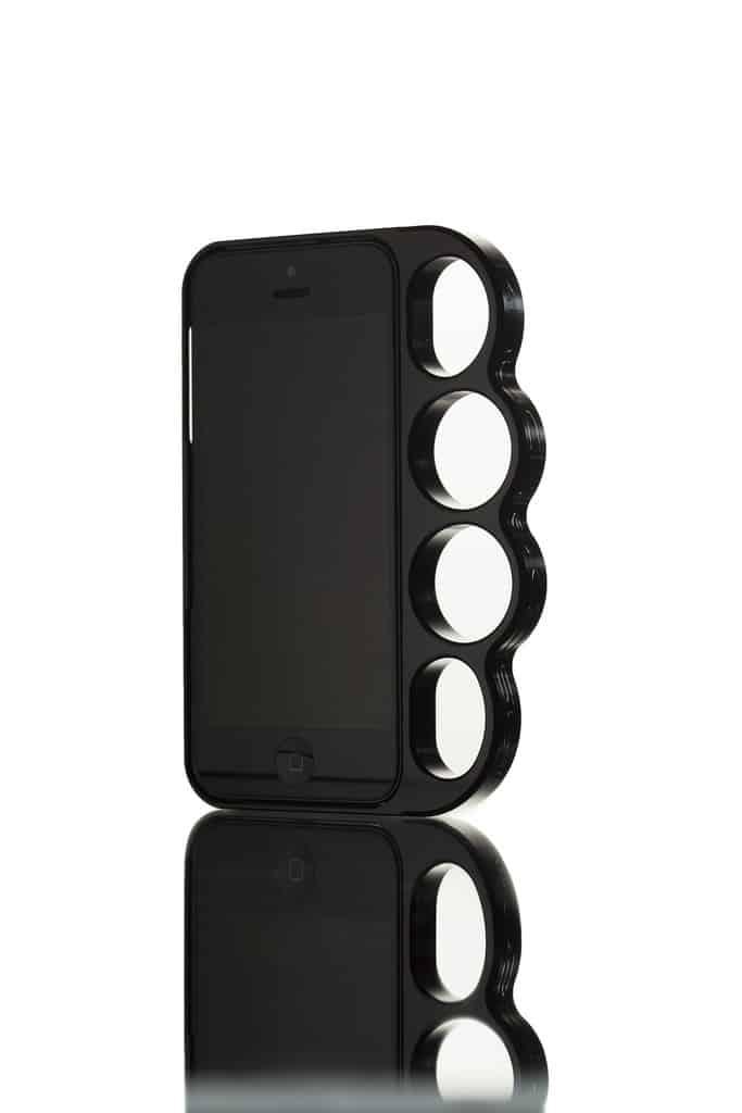 Original Solid Machined Aluminum Knucklecase Black Buy Self Defense Accessory